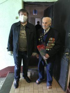 Вниихт поздравляет ветеранов института с 75 Великой победы